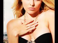 Célyne Durand, ambassadrice sexy des bijoux Edouard Nahum...