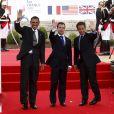 """Les """"Maîtres du monde"""" : Obama, Sarkozy et Medvedev aujourd'hui 26 mai 2011 à Deauville !"""