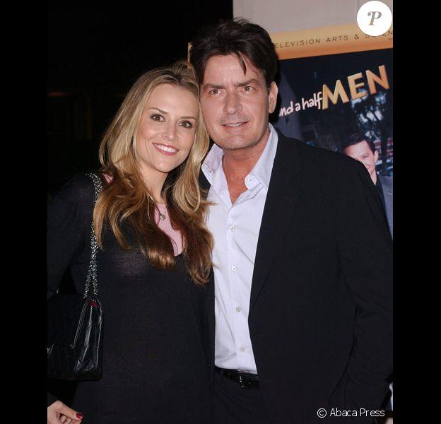 Charlie Sheen et Brooke Mueller