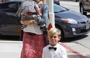 Gwen Stefani, avec les 3 hommes de sa vie : ses fils super lookés et leur papa !