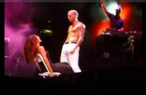 Le sexy Chris Brown dans un lap dance audacieux et brûlant !