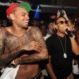 Chris Brown fait la fête avec Ludacris et Lil Bow Wow, le samedi 28 mai 2011, à Miami.