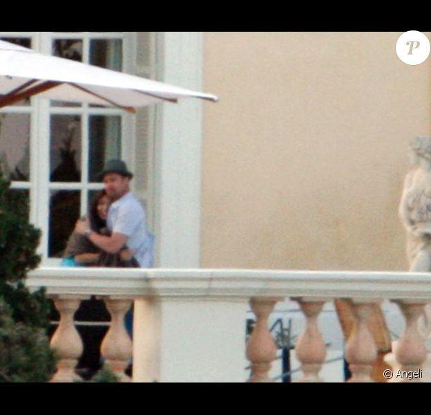 Brad Pitt et Angelina Jolie à Saint-Jean-Cap-Ferrat