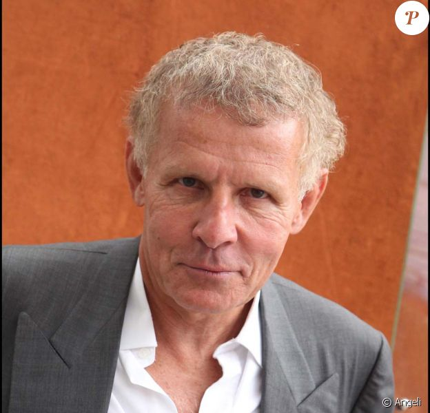 Patrick Poivre d'Arvor, à Roland-Garros, Paris, le 30 mai 2011.
