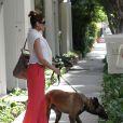 Eva Mendes sur le plateau de Chelsea Handler, mai 2011
