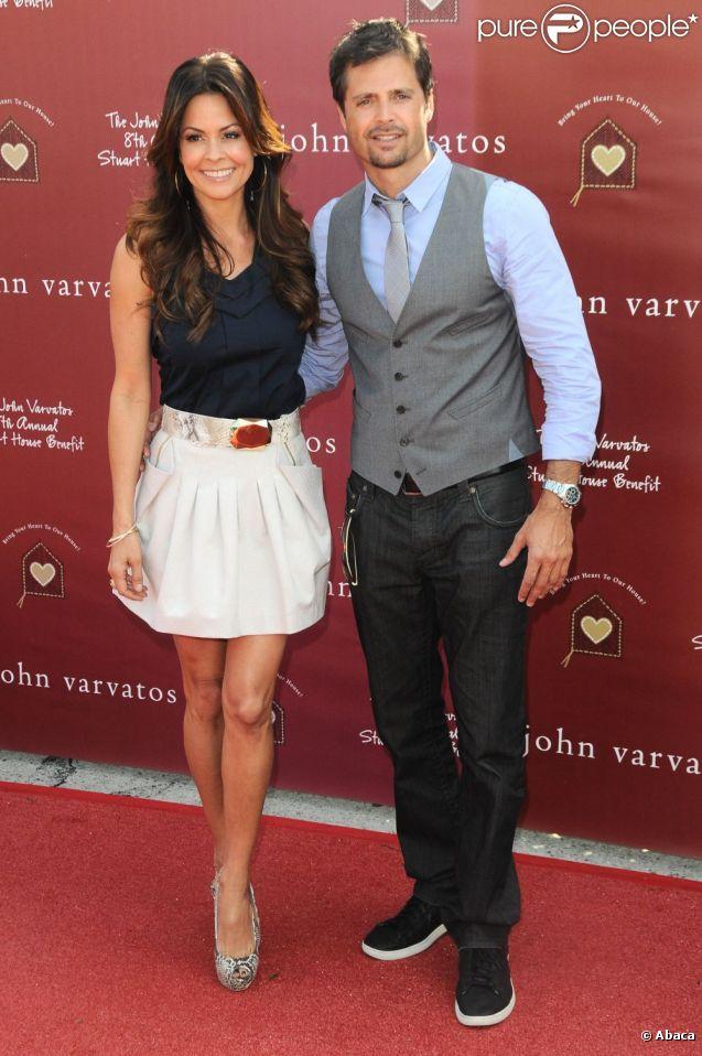 Brooke Burke et David Charvet lors du 8e annuel Stuart House Benefit à Los Angeles le 13 mars 2011
