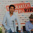 Jamel Debbouze lors de la conférence de presse d'ouverture du festival Le Marrakech du rire au Maroc le 9 juin 2011