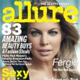 Fergie en couverture du magazine Allure du mois de juillet
