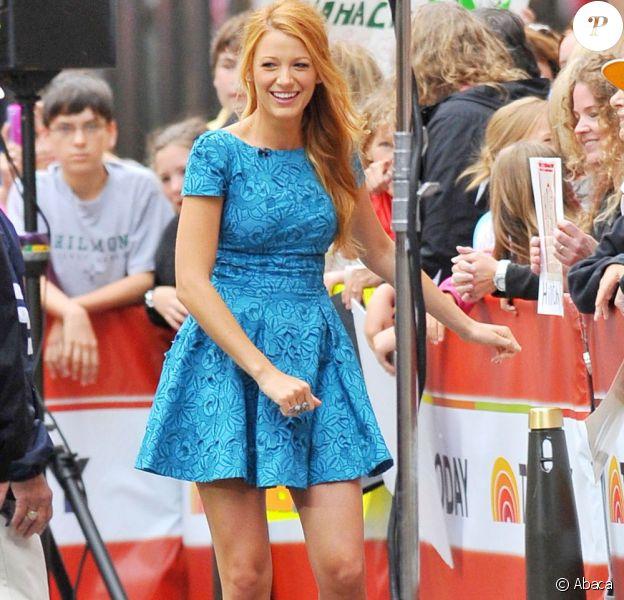 Blake Lively à son arrivée sur le le plateau du Today Show à New York le 13 juin 2011