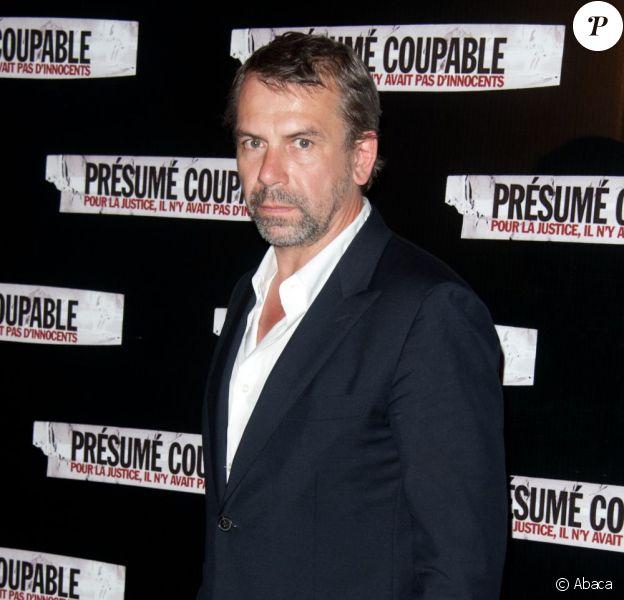 Philippe Torreton lors de l'avant-première de Présumé Coupable, dans l'enceinte du Gaumont Marignan des Champs-Elysées, à Paris, le 14 juin 2011.