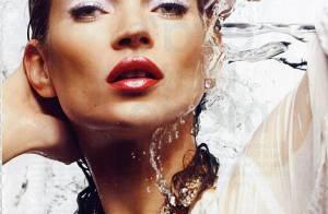 Kate Moss s'affiche en beauté à quelques jours de son mariage