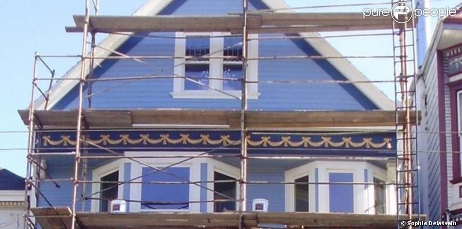 Sophie delassein du nouvel observateur a pris cette photo de la maison de nou - Maxime le forestier la maison bleue ...