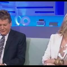 Ryan et Tatum O'Neal lors d'une interview pour ABC à propos de leur émission de télé-réalité