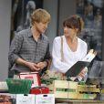 Owen Wilson et Carla Bruni le 28 juillet 2010