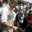 George Clooney en 2008 au nord du Darfour