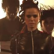 Melissa Mars : En cuir et futuriste dans le clip de 'Je veux danser'