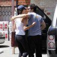 Orlando Bloom se serait-il blessé durant sa séance de sport en compagnie de sa chérie Miranda Kerr ?