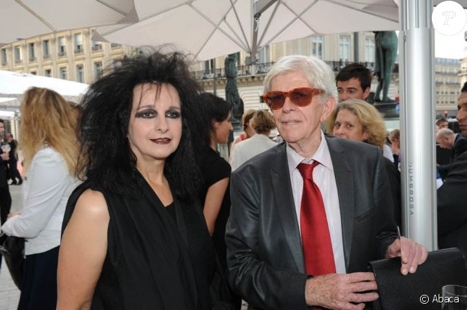 odile decq et henry chapier l 39 inauguration du restaurant. Black Bedroom Furniture Sets. Home Design Ideas