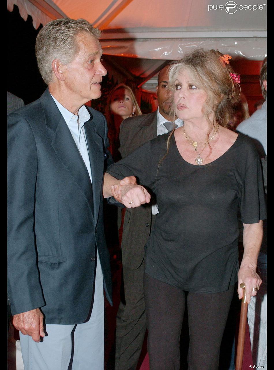 Brigitte bardot et son mari bernard d ormale