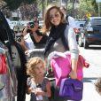 Jessica Alba et sa fille Honor ont passé une délicieuse journée à Los Angeles, le 30 juin 2011.