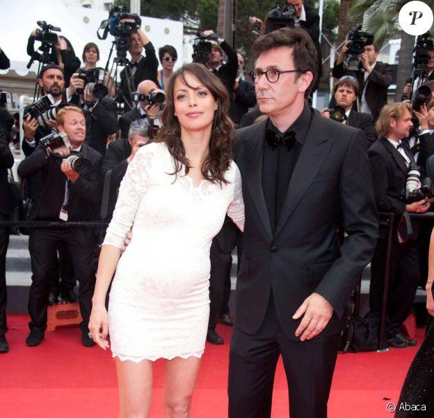 Bérénice Bejo et Michel Hazanavicius à la cérémonie de clôture du festival de Cannes, le 22 mai 2011.