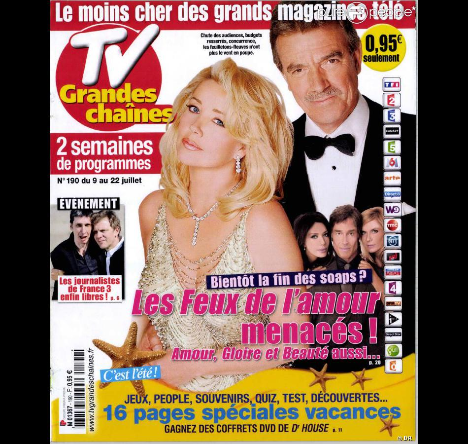 tv grandes cha nes en kiosque le lundi 4 juillet 2011. Black Bedroom Furniture Sets. Home Design Ideas