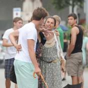 Maria Shriver, bientôt divorcée, oublie tout en vacances avec ses enfants