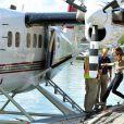 Départ en hydravion de Yellowknife pour le lac Blachford.   Le prince William et la duchesse Catherine de Cambridge se sont rendus mardi 5 juillet 2011 dans la province des Territoires du Nord-Ouest, avant-dernière étape du programme officiel de leur Royal Tour au Canada.