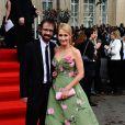 J.K. Rowling et son mari lors de l'avant-première mondiale de Harry Potter et les Reliques de la mort - partie II à Londres le 7 juillet 2011