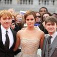Tapis rouge de l'avant-première mondiale de Harry Potter et les Reliques de la mort - partie II à Londres le 7 juillet 2011