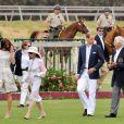 Le prince William et Kate Middleton ont épaté la galerie lors d'un match de polo à but caritatif à Santa Monica. Le 9 juillet 2011. Un match remporté par l'équipe du prince.