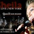 Sheila devait se produire à New York, le 29 septembre 2012.