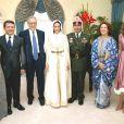 La princesse Rym a certes abandonné sa carrière de journaliste de premier plan en épousant (photo) le prince Ali bin al Hussein de Jordanie en septembre 2004, mais elle s'efforce de partager son savoir-faire en la matière. Le samedi 9 juillet 2011, elle a notamment reçu l'Ischia International Journalism Award, prestigieuse distinction italienne.