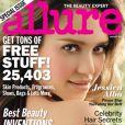 Jessica Alba sur la couverture du magazine Allure