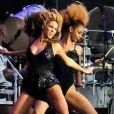 Beyoncé au festival T in the park en Écosse, le 9 juillet 2011.