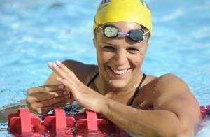 Laure Manaudou : Première compétition et déjà un record !