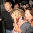 Kesha ivre morte à la sortie d'un club à Londres, le 13 juillet 2011