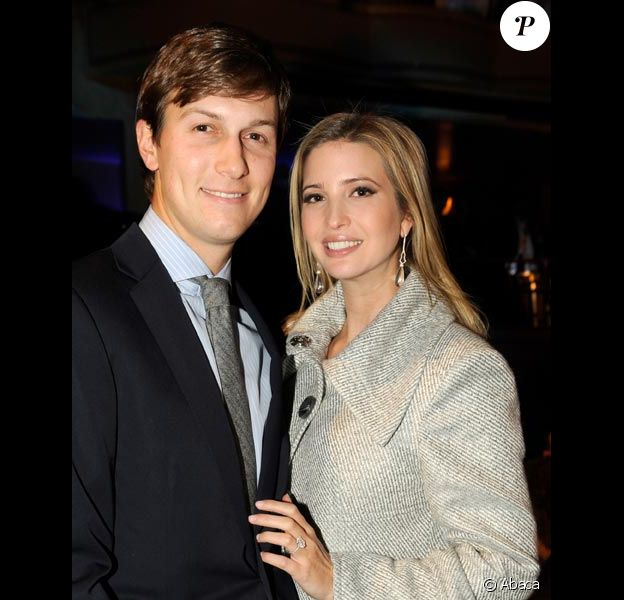 Ivanka Trump et son mari Jared Kushner en mars 2011 à New York