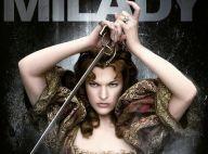 Milla Jovovich, belle et dangereuse Milady, s'affiche avec les 3 Mousquetaires