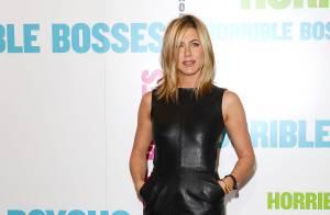 Jennifer Aniston fait sensation, tout de cuir vêtue