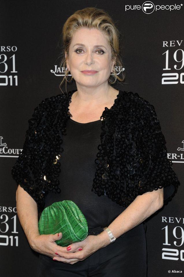 Catherine Deneuve en juin 2011