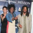 Lauryn Hill et Rohan Marley en mai 99 à New York