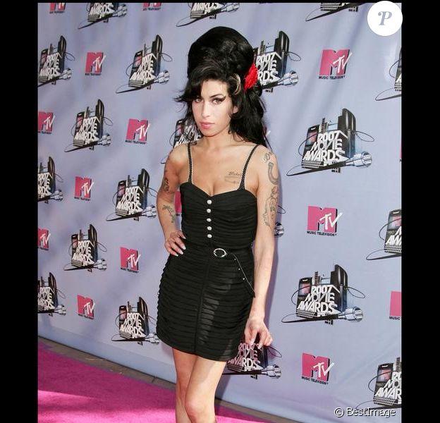 Amy Winehouse en juin 2007 lors des MTV MoVIe Awards