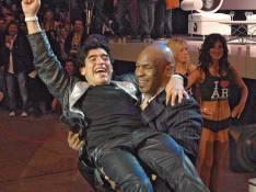 Mike Tyson et Diego Maradona sur le ring cannois !