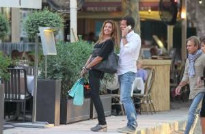 Véronika Loubry et son époux Patrick : Escapade à Saint-Tropez