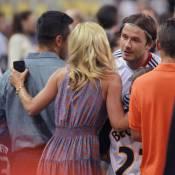 David Beckham, papa comblé, acclamé par Ethan Hawke et le tout-New York