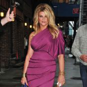 Kirstie Alley : Son humour décapant bluffe David Letterman