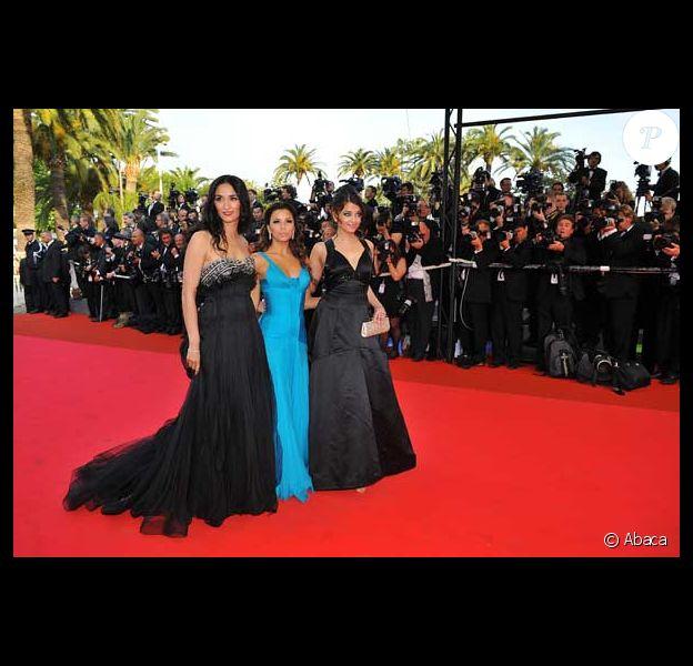 Rachida Brakni, Eva Longoria et Aishwarya Rai