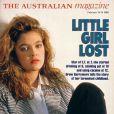 Drew Barrymore racontait son enfance compliqué au magazine australien  The Australian Magazine . Janvier 1989.