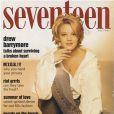 Drew Barrymore est à peine majeure sur la couv' du magazine  Seventeen  de mai 1993.
